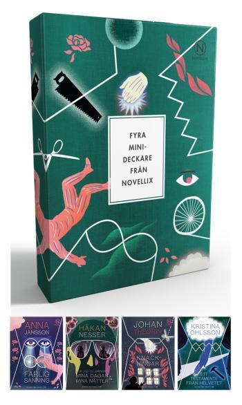 Presentask Med Fyra Deckarnoveller