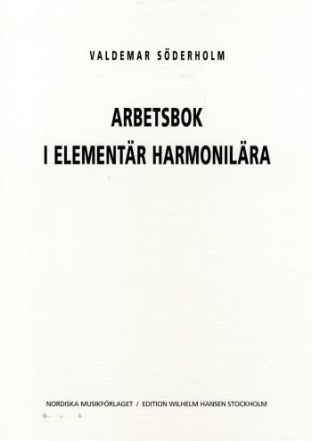 Arbetsbok I Elementär Harmonilära
