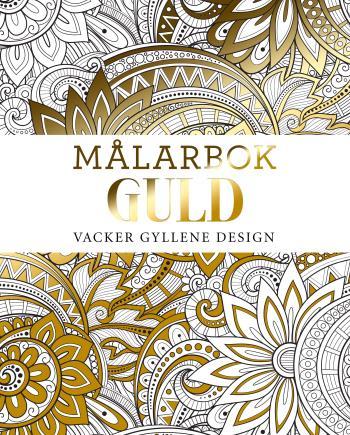 Målarbok Guld - Vacker Gyllene Design