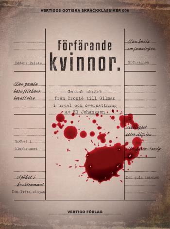 Förfärande Kvinnor - Gotisk Skräck Från Brontë Till Gilman I Urval Och Översättning Av Kg Johansson