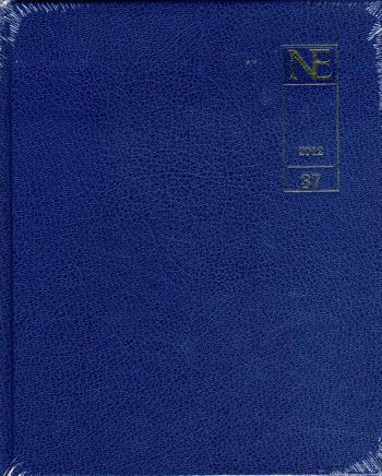 Ne Årsbok 37 2012 I Blå Konstläderinbindning