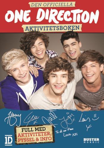Den Officiella One Direction Aktivitetsboken