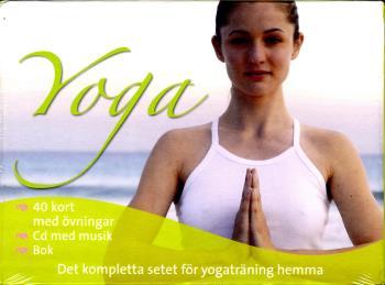 Yoga - Det Kompletta Setet, Bok, Kort & Cd