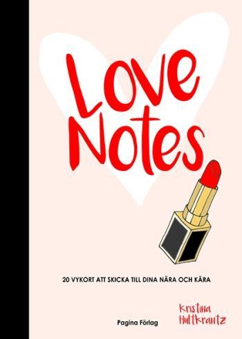 Love Notes - Vykortsbok Med 20 Kort Att Riva Ut