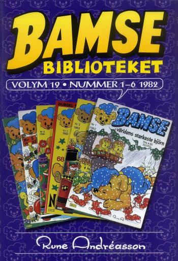 Bamsebiblioteket. Vol. 19, Nummer 1-6 1982