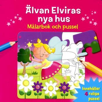 Älvan Elviras Nya Hus - Målarbok Och Pussel
