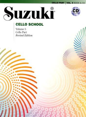 Suzuki Cello School. Vol 5, Book And Cd