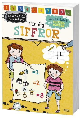 Lassemajas Detektivbyrå Lär Dig Siffror