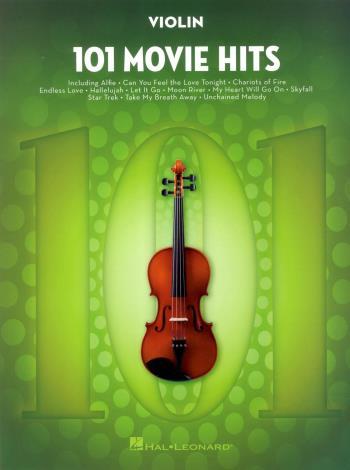 101 Movie Hits, Violin