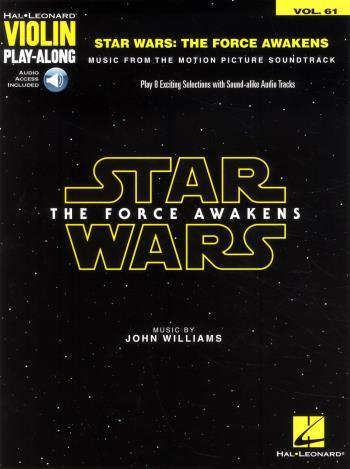 Star Wars - The Force Awakens - Violin Play-along Volume 61