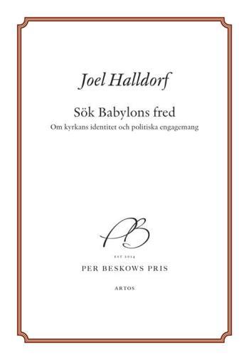 Sök Babylons Fred - Om Kyrkans Identitet Och Politiska Engagemang