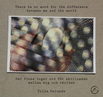 Det Finns Inget Ord För Skillnaden Mellan Mig Och Världen / There Is No Word For The Difference Between Me And The World