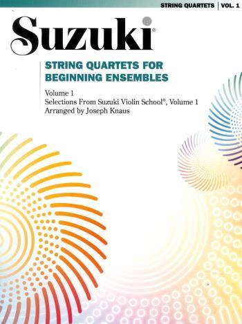 Suzuji String Quartets For Beginning Ensamble