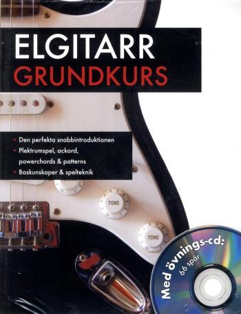 Elgitarr Grundkurs Med Övnings-cd