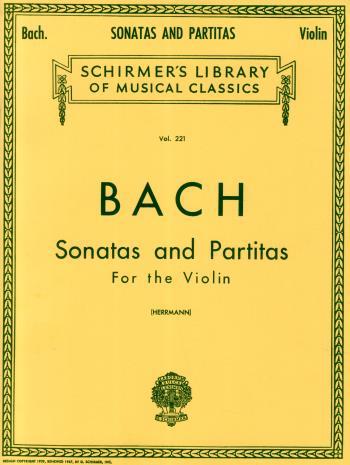 Bach; Sonatas And Partitas For Violin
