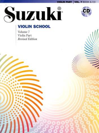 Suzuki Violin School Book/cd Kombo Vol 7