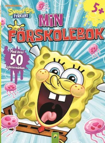 Svampbob Min Förskolebok 2 - Med Klistermärken