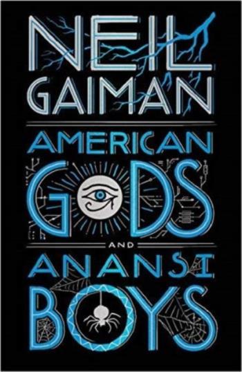 American Gods And Anansi Boys Leather Bindup Edition