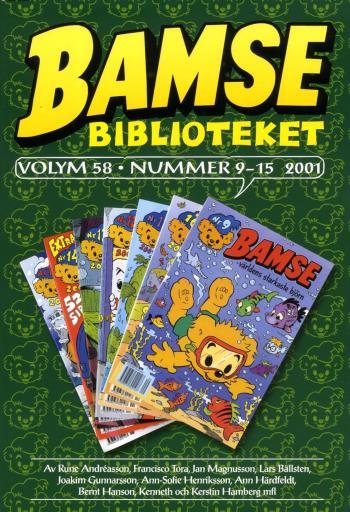 Bamse Biblioteket. Vol 58, Nummer 9-15 2001
