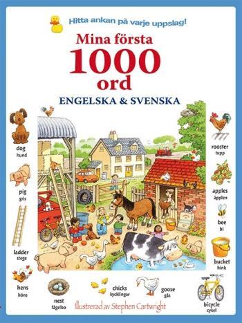 Mina Första 1000 Ord- Engelska & Svenska