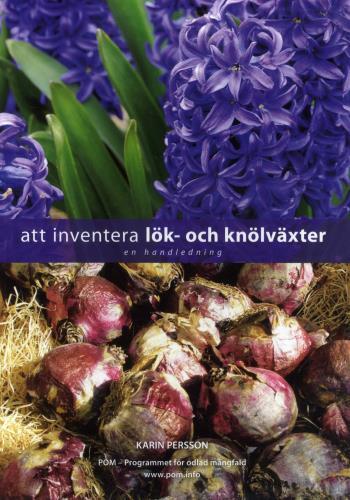Att Inventera Lök- Och Knölväxter