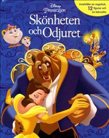 Disney Sagobok Skönheten Och Odjuret