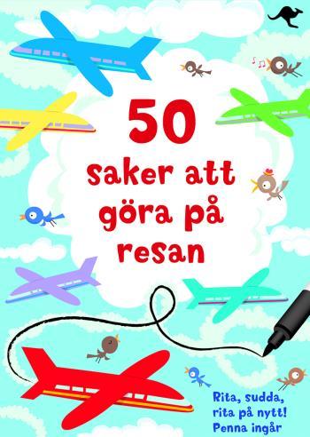 50 Saker Att Göra På Resan - Rita, Sudda, Rita På Nytt