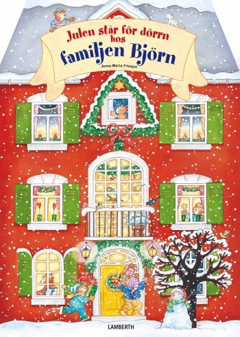 Julen Står För Dörrn Hos Familjen Björn