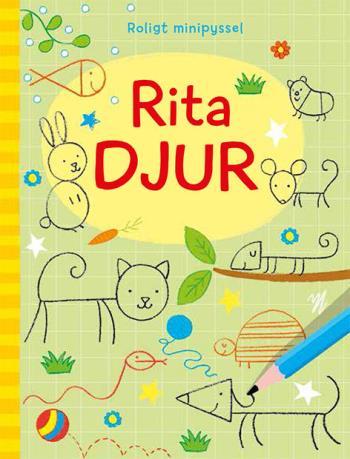 Roligt Minipyssel- Rita Djur