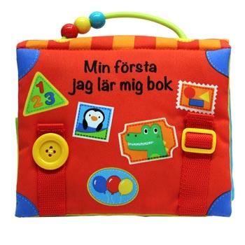 Tygbok - Min första jag lär mig bok