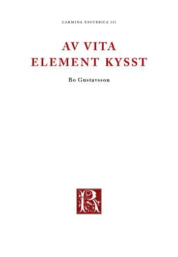 Av Vita Element Kysst