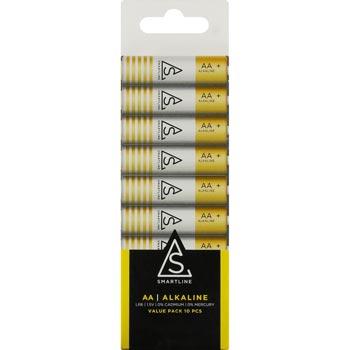 Batterier Alkaliska Proove AA LR6 1,5V 10-pack