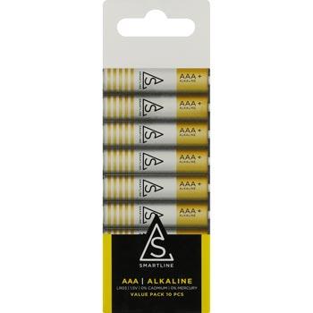 Batterier Alkaliska Proove AAA LR03 1,5V 10-pack