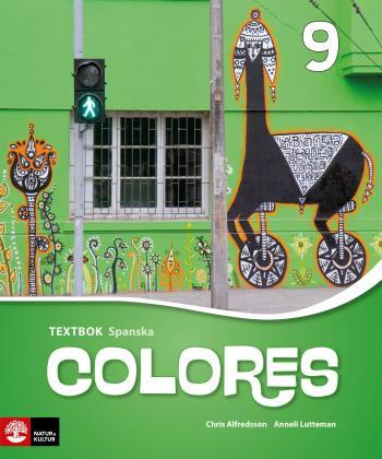 Colores 9 Textbok, Andra Upplagan