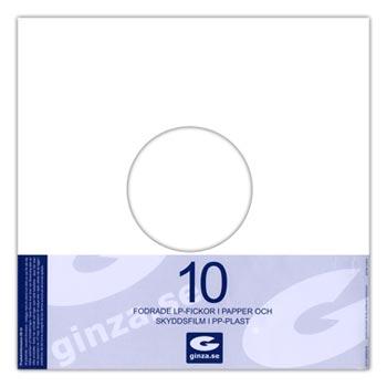 LP-Fickor Fodrade i Papper 10-pack