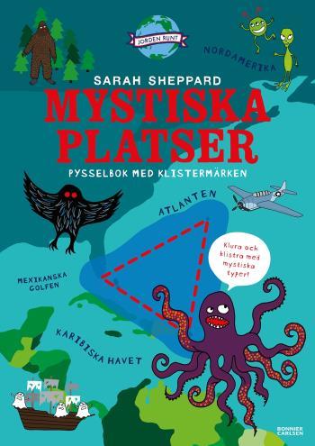 Mystiska Platser Och Olösta Mysterier - Pysselbok