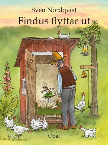 Findus Flyttar Ut - Med Ljudbok