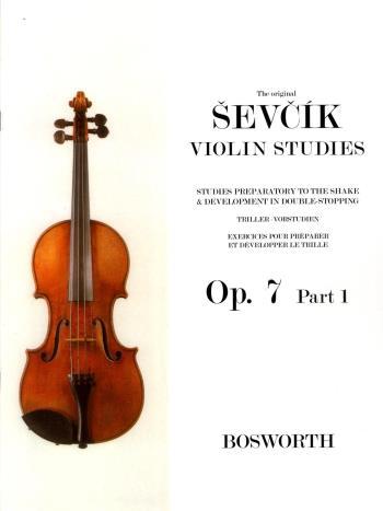 Original Sevcik Violin Studies Op.7 Part 1