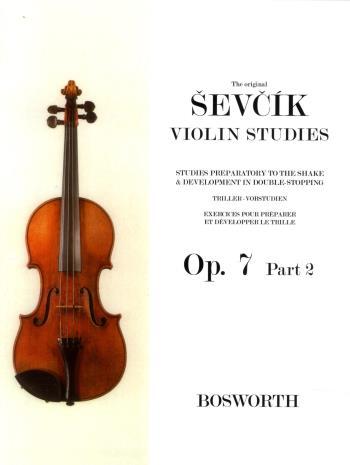 Original Sevcik Violin Studies Op.7 Part 2