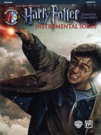 Harry Potter Instrumental Solos Clarinet + Cd
