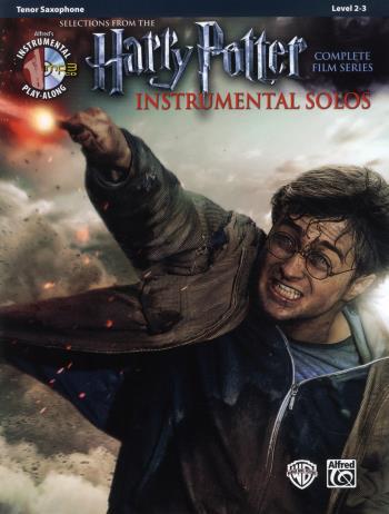 Harry Potter Instrumental Solos Tenor Sax + Cd