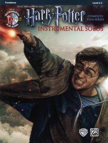 Harry Potter Instrumental Solos Trombone + Cd