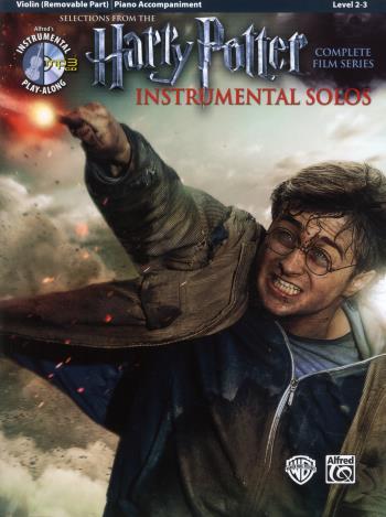 Harry Potter Instrumental Solos Violin + Cd