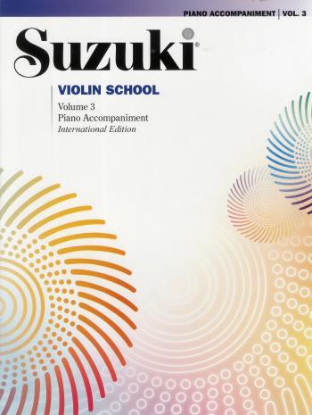 Suzuki Violin Piano Acc 3 Rev