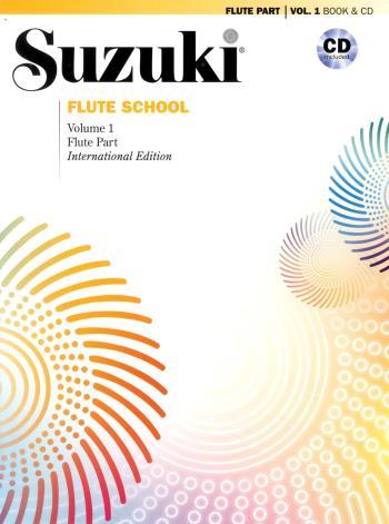 Suzuki Flute School 1 Book/cd