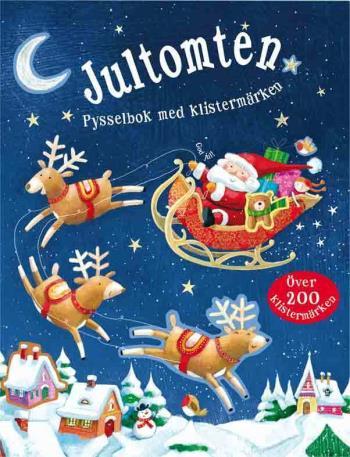 Jultomten - Pysselbok Med Klistermärken