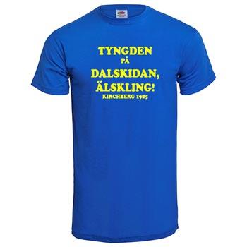 Tyngden på dalskidan älskling! - XXL (T-shirt)