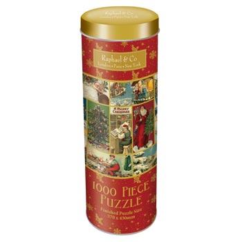 Puzzle / Christmas Tin 1000 pieces
