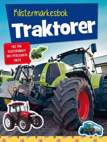 Klistermärkesbok- Traktorer