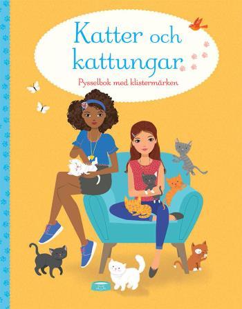 Katter Och Kattungar- Pysselbok Med Klistermärken